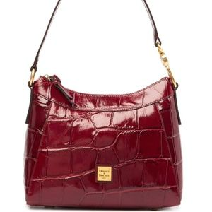 Dooney & Bourke Cassidy Embossed Leather Hobo